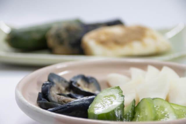 ぬか漬けを食卓へ|ぬか漬けは酵素たっぷりの発酵食品です