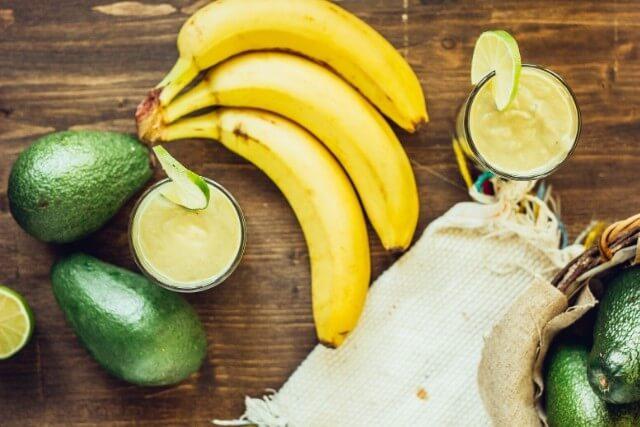 アボカドとバナナジュースre