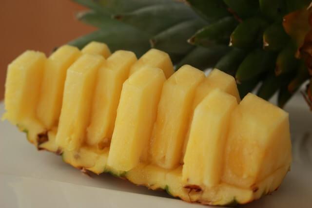 パイナップル写真