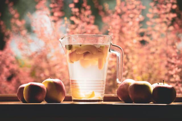 リンゴコンポート