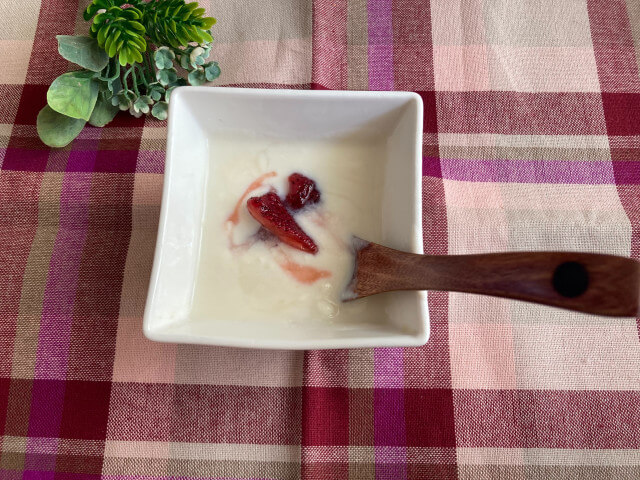 苺シロップ