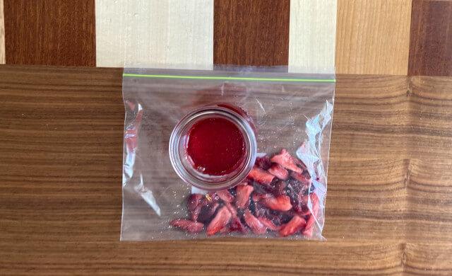 苺シロップの保存方法