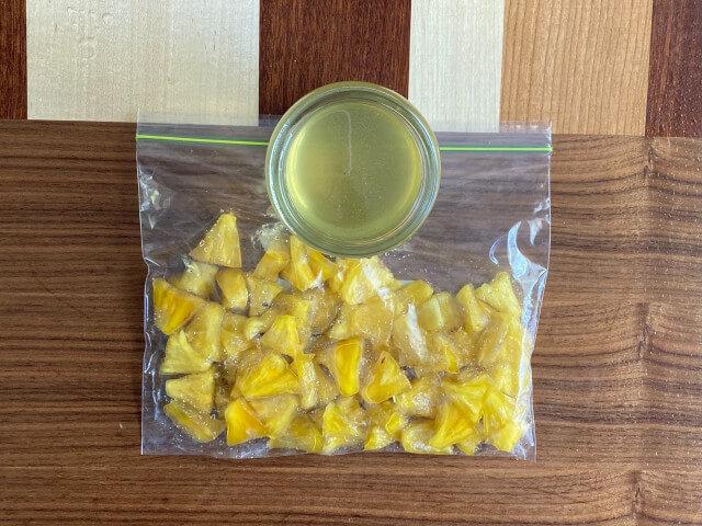 パイナップル酵素ジュース