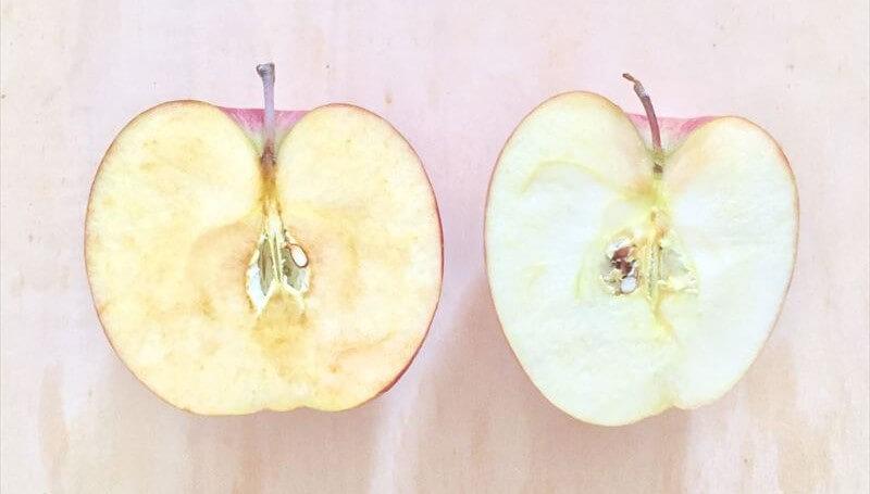 りんごカット変色