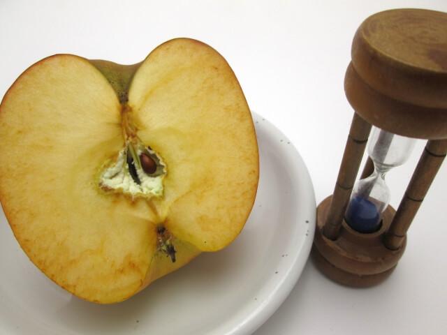 りんご変色