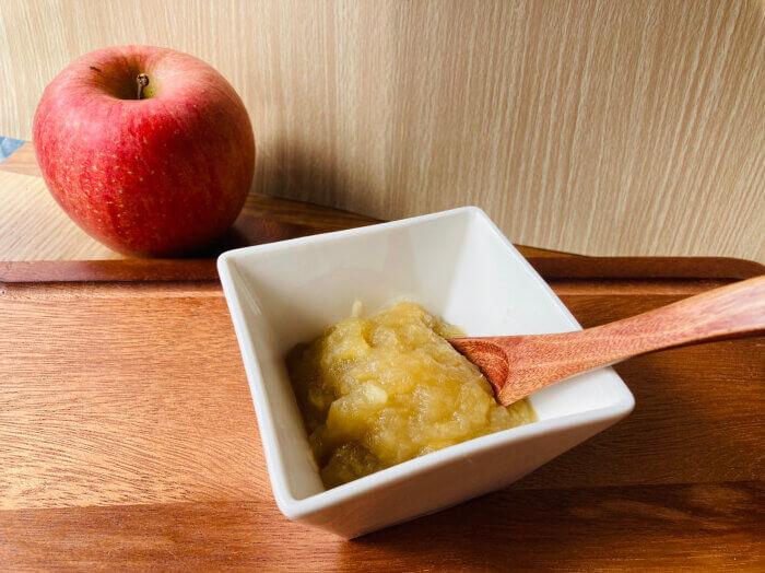 りんごの葛練り