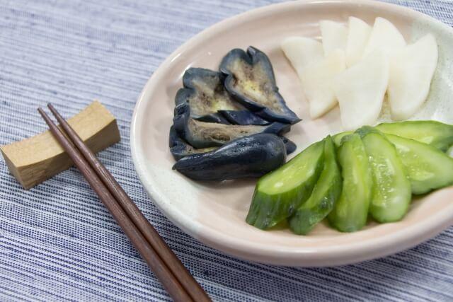 腸の健康を保つぬか漬けを食卓へ|ぬか漬けのいろいろ